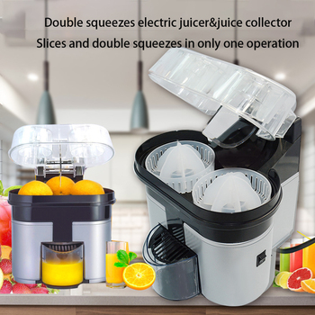 Double press two sets of electric orange juicer squeezes lemon orange orange orange orange original juicer фото