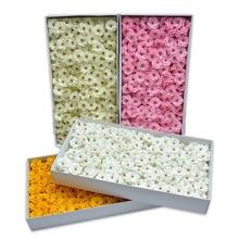 50Pcs/Set Soap Artificial Flower Cherry Blossom Flower Heads Petals Bridal Wedding Party Supply Table Floor Diy Decoration