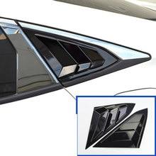 Pegatina decorativa para salida de ventilación de ventana trasera de coche, accesorios para Honda Civic 2016, 2017, 2018, 2019, 2020, carsytling