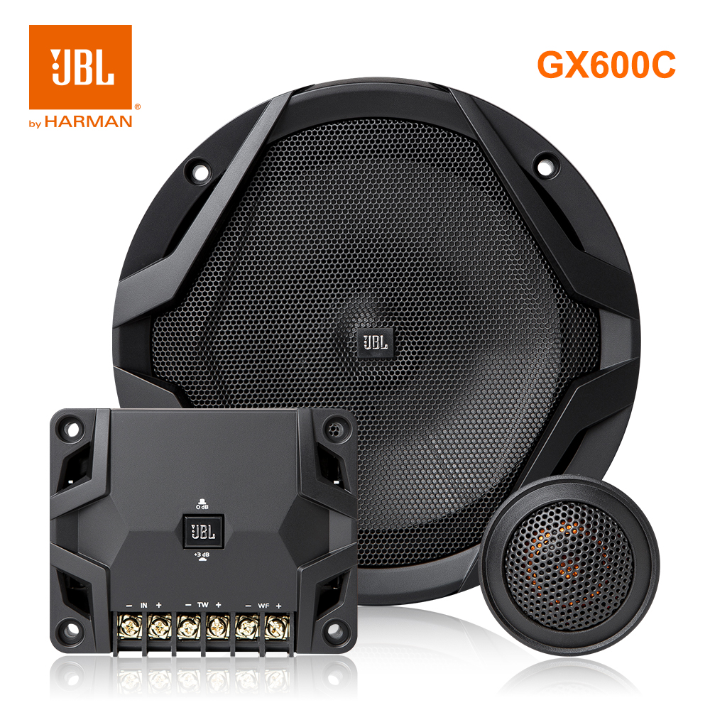 Harman JBL GX600C Car Speakers With Woofer Tweeter Crossover Hifi Auto Audio Subwoofer 70W 2.3ohm 165mm