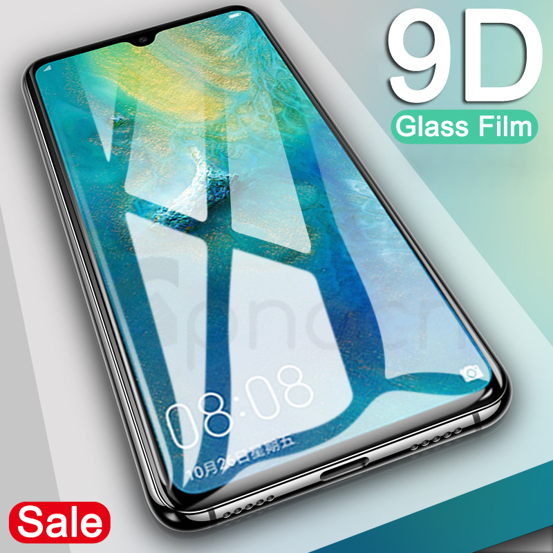 9D Glass On The For Huawei Mate 20 10 Pro 9 Lite 20X Screen Protector Tempered Glass For Huawei P Smart 2019 Protector Film Case
