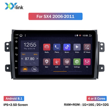 цена на Android 8.1 car multimedia player for Suzuki SX4 2006 2007 2008 2009 2010 2011 2012 2013  gps navigation system  car radio 2 din