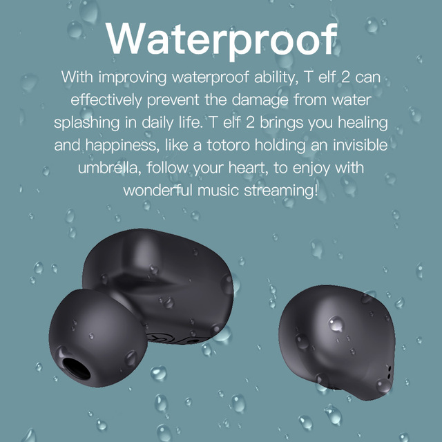 Bluetooth earphone Bluedio T-elf 2 Sports Headset with charging box 3
