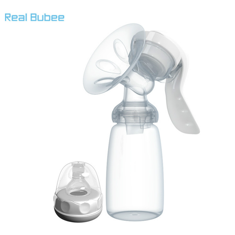 Real Bubee Manual Breast Pump Suction Large Maternal Products Milking Device  Pullout  Lactation  Prolactin  Manual Sucker