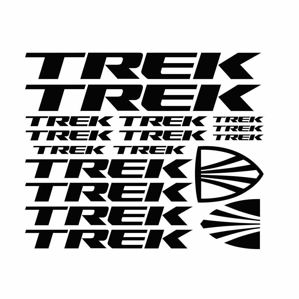 Autocollants de vélo | KIT pour TREK ADESIVI BICI, vtt, BDC BICICLETTA