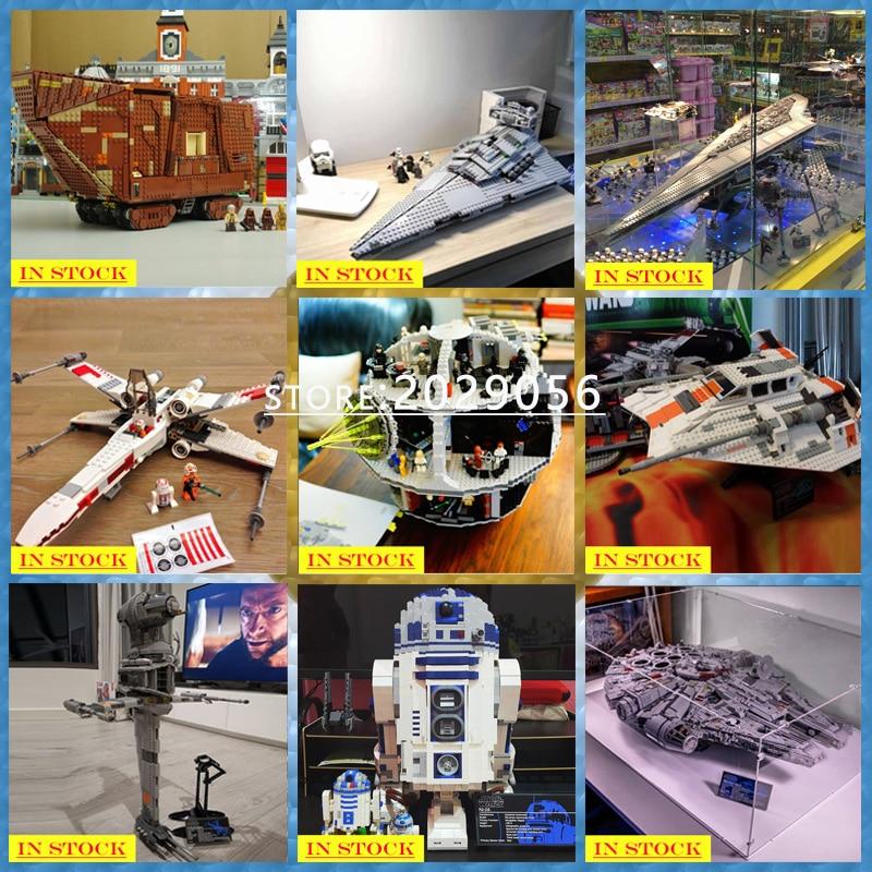 Star Wars Series 05038 05151 05045 05047 05084 05027 05028 05132 75252 Building Blocks Bricks Toys Sandcrawler Ewok Village