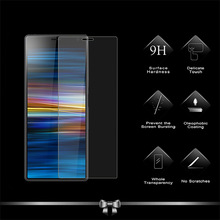 цена на 2PCS Tempered Glass Screen Protector Film For Sony Xperia 10 Protective Glass For Sony Xperia 10 Plus 2.5D 9H Tempered Glass