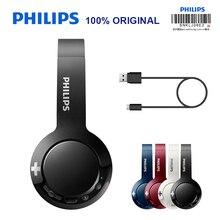 מקורי פיליפס אלחוטי אוזניות SHB3075 HIFI Bluetooth 4.1 עם מיקרופון הפחתת רעש לגלקסי S8/S9/S10 הערה 8/9 Huawei