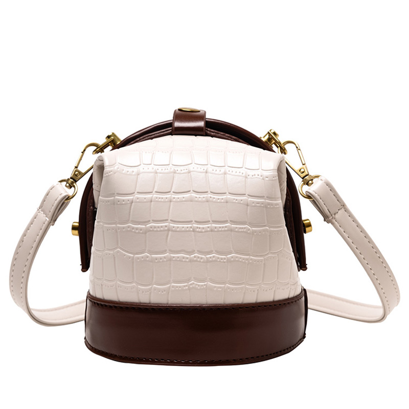 BolsosSac Fashion Women's Shoulder Bags Bucket Stone Pu Leather Crossbody Bags For Women 2020 New Small Messenger Bag Ladies