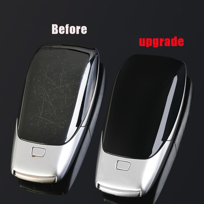 Car Key Shell Back Cover Replacement for C E S E260L E200L E300L C260L E320L GLE350 GLE450 S320