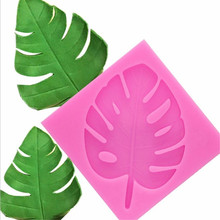 4YANG 3D tree leaf molds Sugarcraft Leav silicone mold Turtle fondant cake decorating tools Leaves chocolate gumpaste