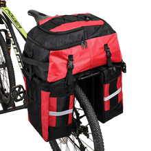 Trunk-Bag Bicycle-Bag Rain-Cover Rhinowalk Seat 70l-Luggage-Carrier Rear-Rack Road-Bike