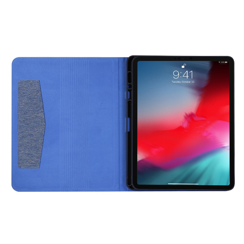 iPad 2020 Gen Pencil Holder Case Tablet 4th With Pro For 12.9 iPad Coque inch Pro For