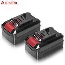 Lithium-Battery Power-Tools Abeden Einhell 4000mah for 18V Rechargeable Pxbp600/pxbp300
