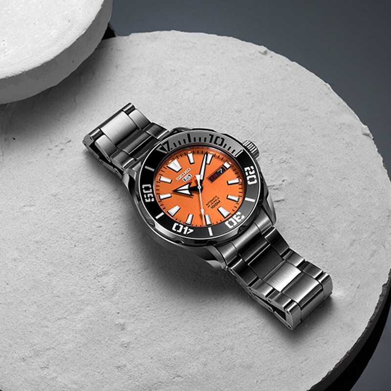 100% Original Seiko 5 Sprots Men's Watch 10 Bar Waterproof  Diving Swming Automatic Mechanical Wristwatches Global Warranty