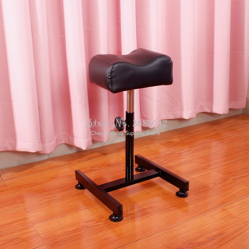 Professional Pedicure Bracket Support Foot Stand Foot Bath Nail Bench Stool To Do Rotary Lift Manicure Chair