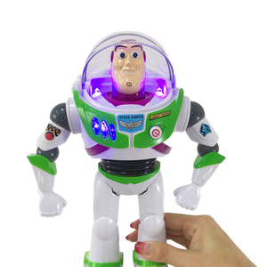 Image 2 - Disney Genuine Electric Juguete Toy Story 4 Buzz Lightyear With music light Action Figure Toys & Hobbies for Children Gift A102