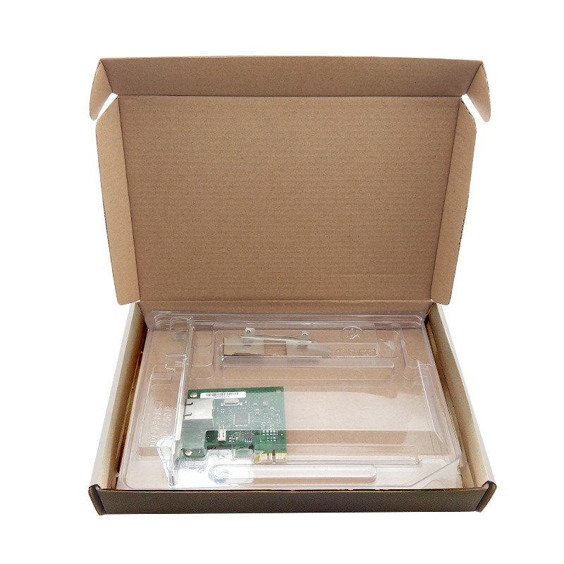 I210 PCIe2.1 X1 RJ45*1 1000M Network Card with Intel Chipset I210 5
