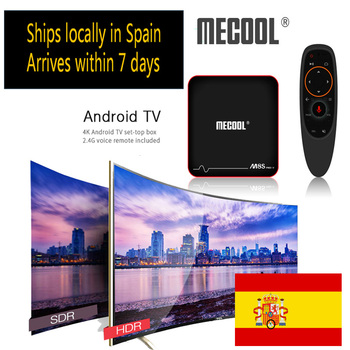 Smart TV Box Mecool M8S PRO W S905W Android 7.1 support iptv With Voice Remote Media Player 4K 8/16GB Set Top BOX Ships locally