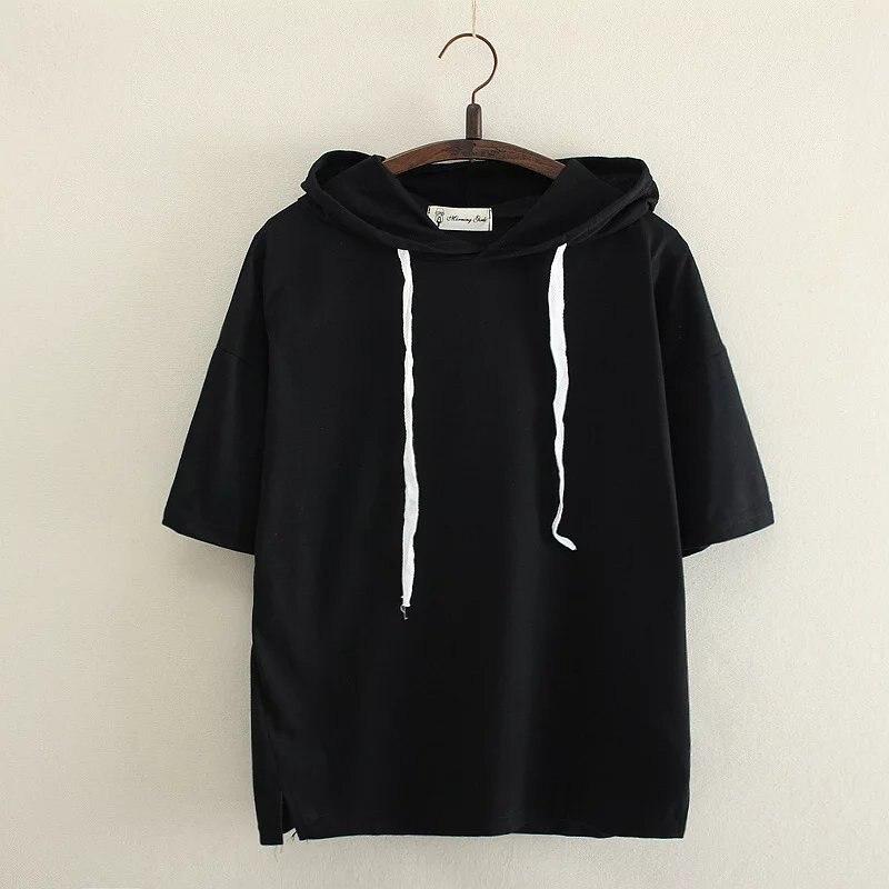Nueva camiseta de algodón estampada camiseta divertida mujer verano Camisetas 2018 Casual cuello redondo