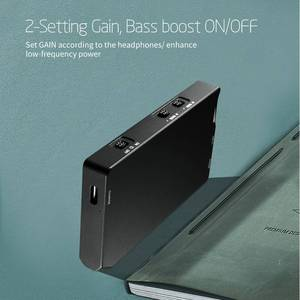 Image 3 - Xduoo XQ 20 Mini Hifi Audio OPA1652 LMH6643 Draagbare Hoofdtelefoon Versterker Amp