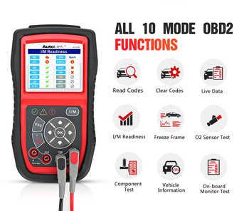 Autel AutoLink AL539 Auto Code Reader OBDII Electrical Test Tool AL539 OBD2 Scanner Internet Update Voltage Circuit Start Tester