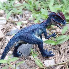 Имитация дилофозавра динозавр ПВХ модель Фигурка домашний стол декор Детская игрушка пластик моделирование детские развивающие игрушки