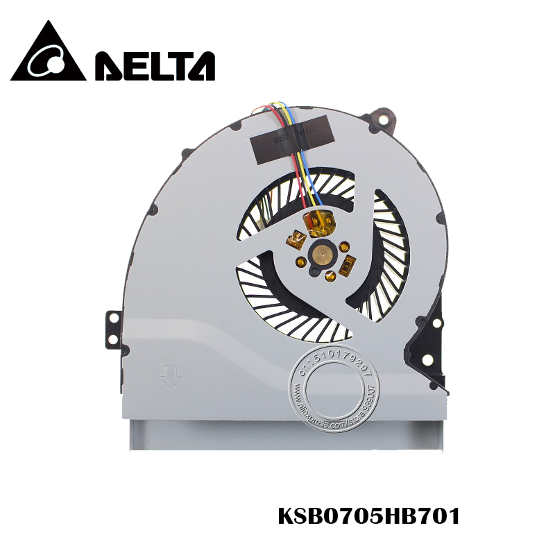 New Cpu Cooling Fan For ASUS A550JK R510JK K550JK A550JZ A550JV F550JK K550J A550J X550J FX50J A550 W50JK FX50J KSB0705HB701
