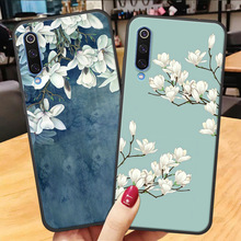 Soft Silicone Phone Case For Xiaomi Mi A2 8 Lite A3 case 3D Flower Pattern Cartoon Back Cover xiaomi mi a3 a2 lite