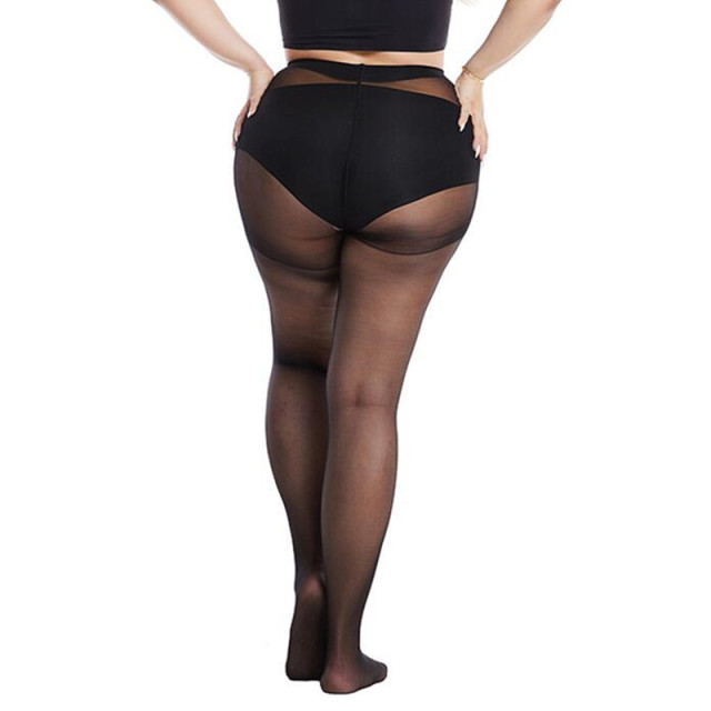40 D Plus Size Women Sexy Pantyhose Elasticity Spandex Resistant Women's Stockings Collant Femme black tights Sexy Control Pants 3