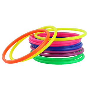 Outdoor Toy Hoop Toss Children Games Garden-Speed Plastic Sports Kids 10pcs Ce Ring-Pool