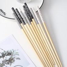 5 пар/компл nordic экологические бамбуковые палочки для еды