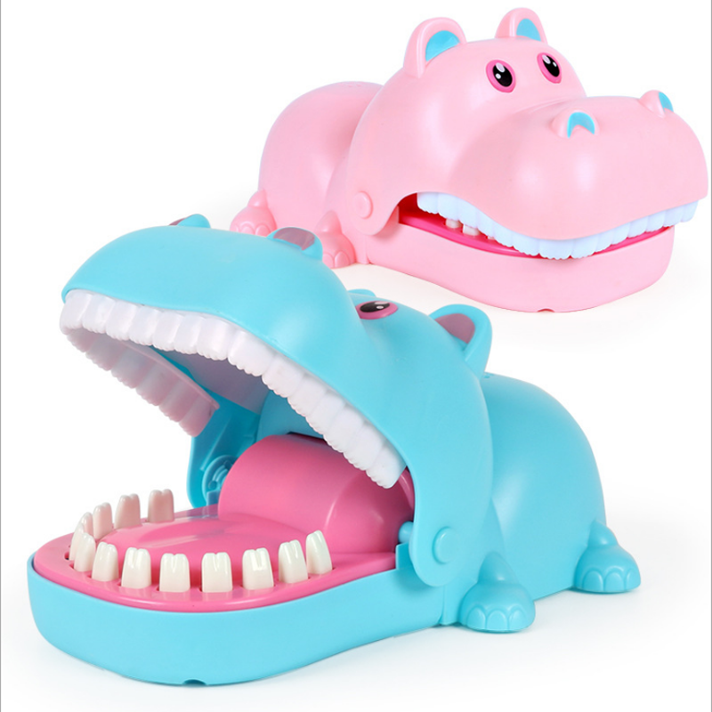 Hand Hippopotamus Lighting Strange New Trick Toys Parody novel Board Game Toys 1