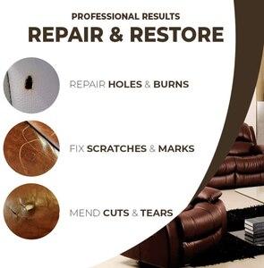 Image 4 - Lederen Opknappen Schoner Reparatie Crème Geavanceerde Leer Reparatie Gel Autostoel Thuis Leer Complementaire Kleur Reparatie Plakken