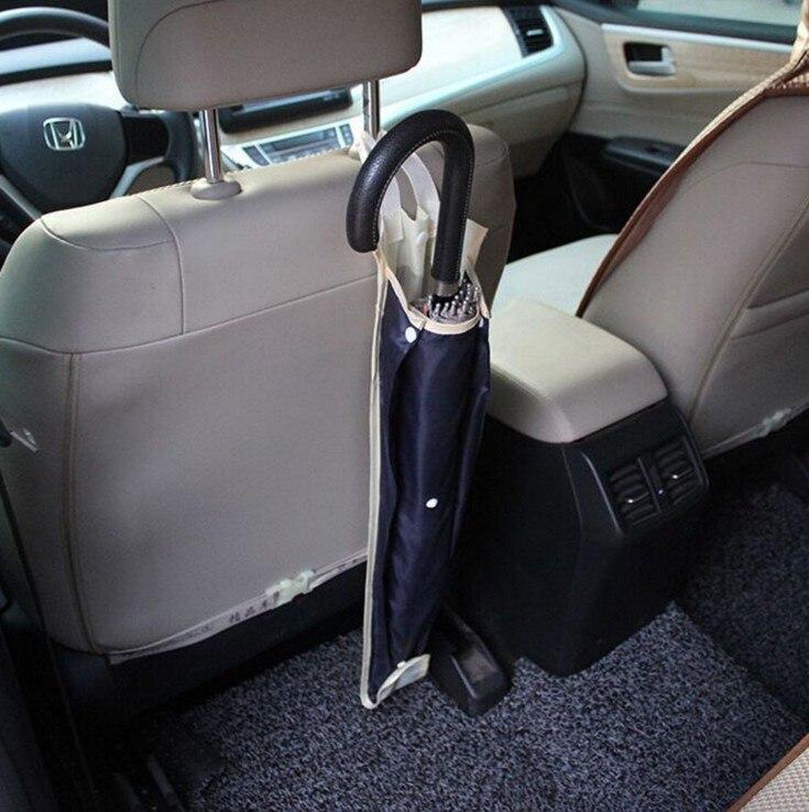Umbrella Box Car Seat Back Waterproof Umbrella Storage Bag Oxford Cloth Car Hanging Storage Bag For Umbrella Sundries Holder