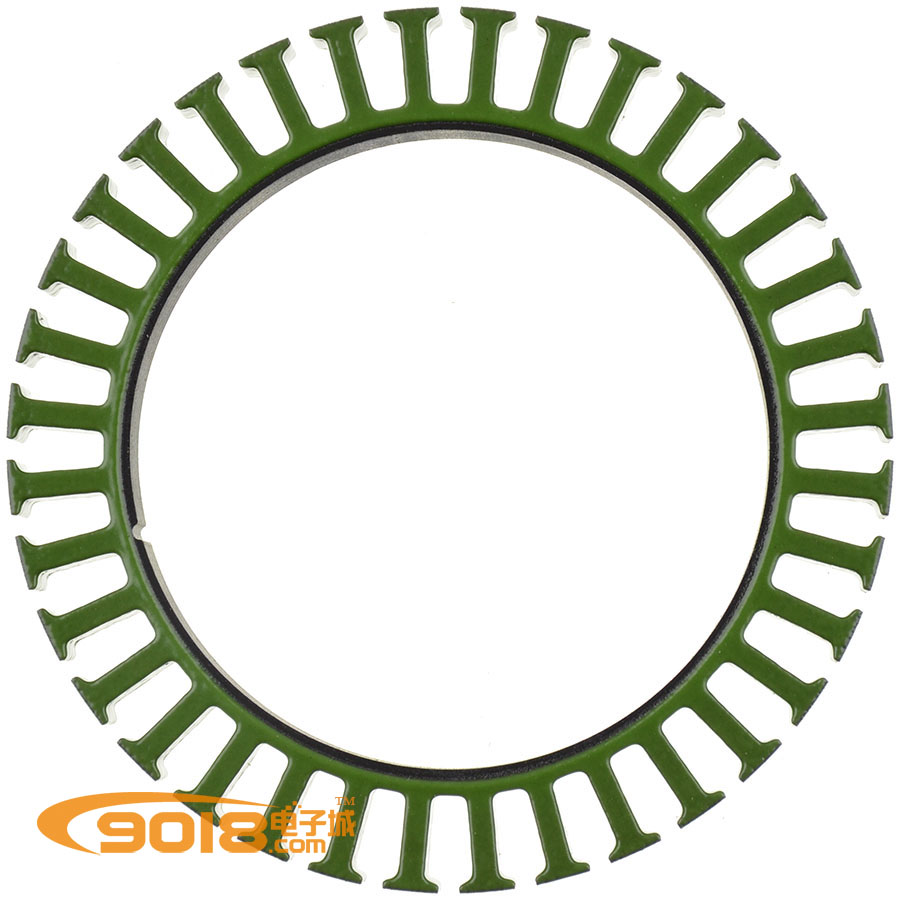 An Outer Rotor Brushless Motor Disc 8110 Generator Motor Silicon Steel Sheet Of The Stator Core 81 * 10mm 36N40P