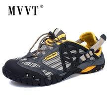 Качественная мужская уличная походная обувь летние дышащие мужские