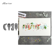 JC Metal Cutting Dies for Scrapbooking Cut Banana Ice Cream Bra Stencil Paper Card Make Model Decoration Craft New Die 2019