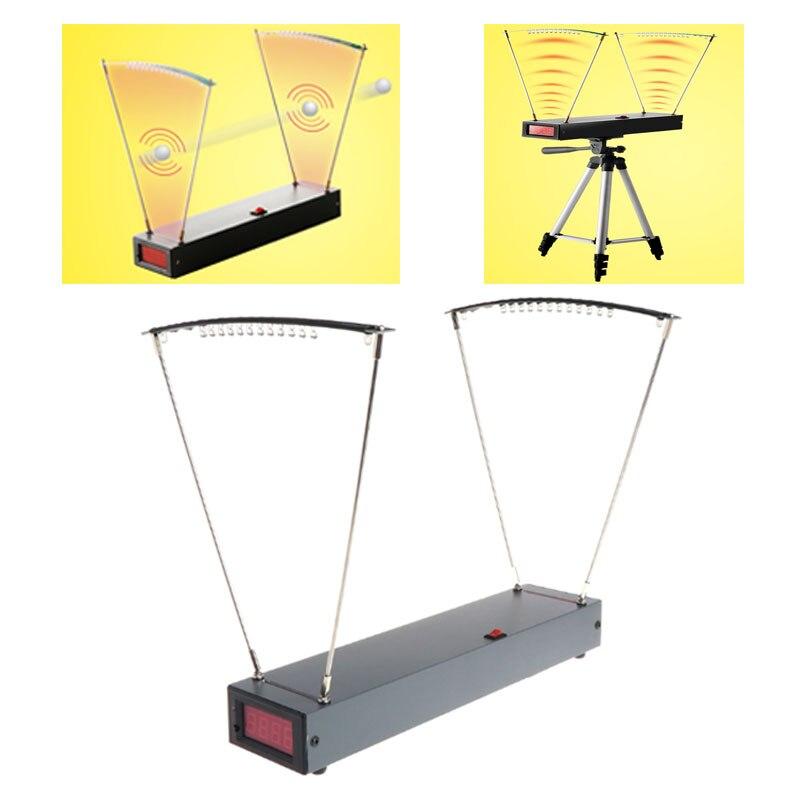 Medidor de velocidade do estilingue dos instrumentos de medição da velocidade da aceleração da velocidade alta da sensibilidade 30-9999 fps para fotografar