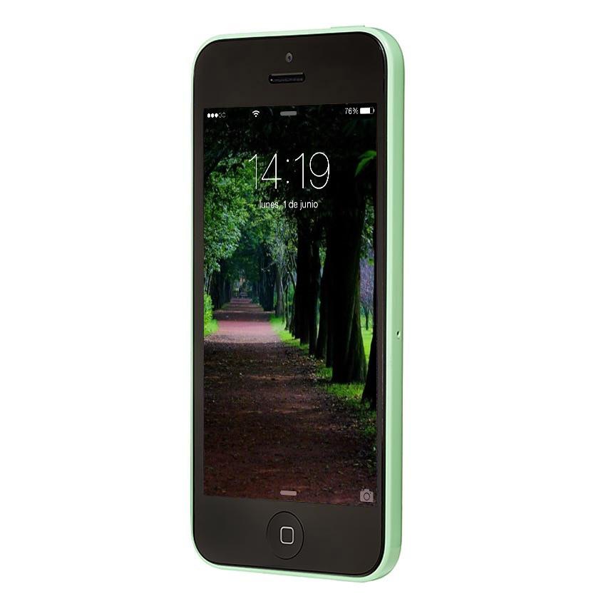Отремонтированный Apple iphone 5C ram 1G rom 8G 16& 32 iOS iphone 5c двухъядерный Сенсорный экран wifi gps GSM HSDPA 8mpix камера 4,0 iphone 5c - Цвет: Verde