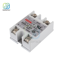 Solid State Relay SSR-10AA SSR-25AA SSR-40AA 10A 25A 40A 80-250V AC TO 24-380V AC SSR 10AA 25AA 40AA high quality hot sale lsr1 1 310aa 10a ac to ac 90 250vac to 24 440ac ssr thermal compound solid state relay heat sink new