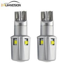 2PCS 30W T15 T16 W16W 921 955 LED Bulbs Canbus OBC Error Free XB-D SMD LEDs Car Backup Lamp Reverse Lights White No-polar 12-24V