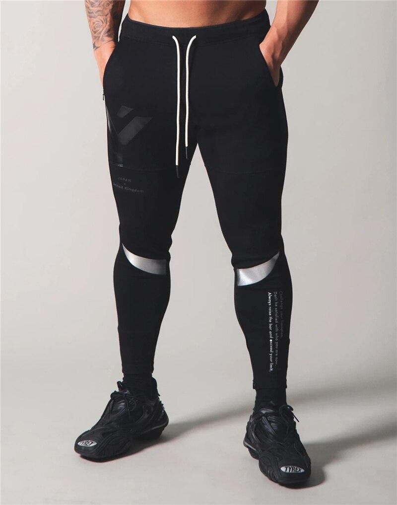 Japan&UK 2020 Jogging Men Sports Patchwork Pants For Men Training Gym Cotton Men Running Hombre Gym Trousers Mens SportsWear