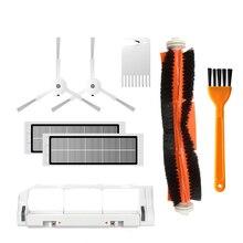 HEPA Filter+Side Brush+Main Brush for Xiaomi MI Robot Vacuum 2 Roborock S50 S50 S51 S52 S55 E25 Vacuum Cleaner Parts Accessories