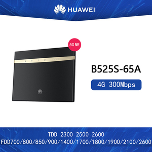 Unlocked Huawei B525 B525S-65a 4G LTE CPE router with SIM card slot Wireless Router(China)