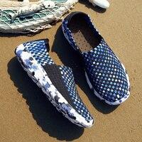 2019 г. Летняя новая стильная мужская Вулканизированная обувь повседневная обувь Мужская дышащая обувь пляжная обувь удобные большие размер...