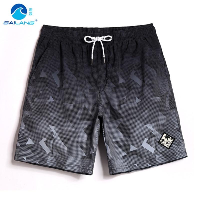 Beach Shorts Men Quick-Drying Loose-Fit Seaside Holiday Large Size Shorts Hot Springs Swimming Boxer Anti-Awkward Short Swimming