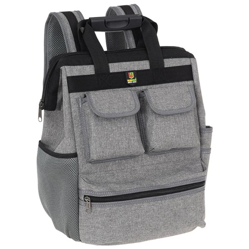 Oxford Professional Tool Backpack Electrician Double Shoulders Storage Bags For Construction Elevator Exploration Worker Bags
