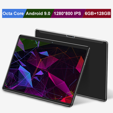 3G/4G LTE 10.1 inch Tablet PC Google store Android 9.0 Octa core 6GB RAM128GB RO