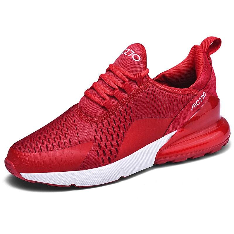 Novo Designer Da Marca Chegada Esporte Casual Sapatos 270 Almofada de Ar Tênis Respirável Leves de Verão Moda Feminina Sapatos Hombre